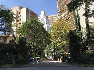 Avanhandava Boulevard, downtown São Paulo, Brazil.