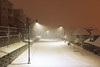 Memories of a cold winter night (Maria Echaniz) Tags: winter snow night cold snowing portland oregon pdx home
