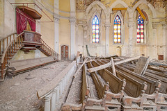 Sursum Corda.jpg (doppi4punt4) Tags: abandonedplaces decay discarded tempio urbanexplorer filth italia lost luoghiabbandonati forgottenplaces trash infiltration derelict relics creepy temple chiesa eglise kerken old urbandecay damage lostplaces urbexita oldplaces abbandono ruins decadenza urbanexploration neglected church colors kirke abandoned godforgotten disused crumbling