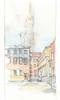 Venezia, Campo de la Celestia, Italia (Linda Vanysacker - Van den Mooter) Tags: venezia campodelacelestia watercolor watercolour visiblytalented vanysacker vandenmooter tekening sketch schets potlood pencil lindavanysackervandenmooter lindavandenmooter drawing dessin croquis crayon art aquarelle aquarell aquarel akvarell acuarela acquerello venice venetië 2017