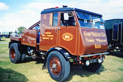 Sentinel S4 Steam Timber Tractor (SR Photos Torksey) Tags: steam wagon waggon lorry road transport traction engine rally vehicle vintage commercial classic sentinel s4 timber tractor