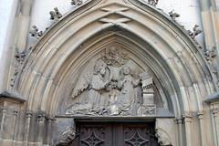 Mariä Himmelfahrt, Bad Königshofen (palladio1580) Tags: gotik portal bayern franken unterfranken landkreisrhöngrabfeld badkönigshofen kirche
