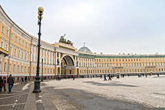 Palace Square. The General Staff Building (Svetla (ribonka 78)) Tags: stpetersburg russia museum travel historicalplace architecture