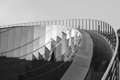 201803123_Nanyang Technical University (Damien Walmsley) Tags: nanyangtechnologicaluniversity ntu singapore architecture blackandwhite shadows lights reflections structure metal glass sky