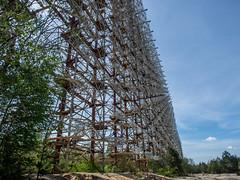 The Russian Woodpecker (802701) Tags: chernobyl chernobylexclusionzone pripyat ukraine abandoned abandonedbuildings creepy eerie nature nuclear при́пять чорнобиль