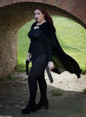 Death Dealer Lisa (camperpida) Tags: death dealer agent lisa agente morte underworld cosplay cosplayer sangue blood vampira vampire vampires hunter cacciatrice rocca forlimpopoli