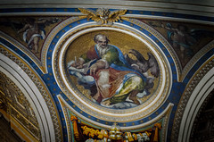 Mosaik des Hl. Johannes (Markus Wollny) Tags: city vatikan rom cittàdelvaticano vatikanstadt it