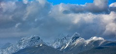 Close to heaven (Christie : Colour & Light Collection) Tags: summit mountains bc canada snowpeaks clouds sky winter spring cloudy atmospheric atmosphere bccoastalmountains goldenearsmountain britishcolumbia heaven