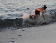 Skimboard runway (HockeyholicAZ) Tags: beach playa sand sunset landscape relax ocean costarica nicoya guanacaste tico seca azucar sugarcane hermosa tamarindo coco liberia