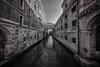 Ponte Dei Sospiri (Amanda J Richards) Tags: bridge canal mono buildings ancient city water narrow windows arches doors