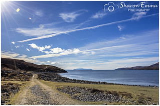 Sun Shines on the Shore of Loch Slapin