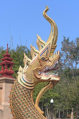 Wat Pa Neramit Mae Taeng Phra Chedi Naga (DTHCM2054) วัดป่าเนรมิตแม่แตง นาค พระเจดีย์