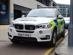 Brand New West Midlands Police/Central Motorway Police Group BMW X5 Traffic Car BX67 FPD (MW13), West Midlands Police Headquarters. (Vinnyman1) Tags: central motorway police group cmpg west midlands bmw x5 traffic car bx67 fpd mw13 operations rpu roads policing unit wmp anpr automatic number plate recognition cctv closed circuit television enabled 20 emergency services service rescue 999 lloyd house birmingham station england uk united kingdom gb great britain