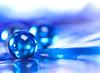 The Blues (Tomo M) Tags: theblues macromondays macro ball glass blue colr color reflection globe bokeh 3 light glassmarble