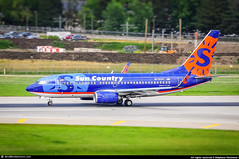 [MSP.2013] #Sun.Country.Airlines #SY #B737 #N710SY #Lake.Minnewashta #awp (CHRISTELER / AeroWorldpictures Team) Tags: sun country airlines boeing 73773v wl msn 30241 1034 eng 2x cfmi cfm567b20 reg n710sy rmk named lakeminnewashta history aircraft first flight built site renton krnt delivered easyjet u2 ezy leased cit gezji cabin y149 return leasor leasing corporation n241cl tsf suncountryairlines sy scx c12y117 winglets fitted avolon plane aircrafts airplane planespotting minneapolis stpaul msp kmsp usa b737 737 b737700 uk nikon d300s nikkor raw zoomlenses 70300vr awp aeroworldpictures 2013 chr