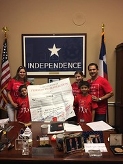 Moms Clean Air Force and Mi Familia Vota joined the Martinez family, constituents of Representative Pete Olson (TX 22), for this year's #PlayIn4Climate in D.C