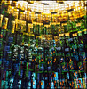 Coventry Cathedral (steve-jack) Tags: hasselblad 501cm 80mm cb lomo colour 100 multiple exposure film 120 6x6 coventry cathedral stained glass window epson v500 tetenal c41 kit