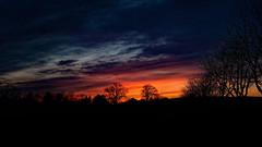 Sonnenuntergang über dem Scheunenviertel, sunset (fritz polesny) Tags: sonneuntergang sunset panasonic g81 30 mm gerasdorf bei wien niederösterreich loweraustria
