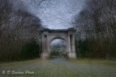 Brocklesby Arch (Osdog LRPS CPAGB BPE3*) Tags: multiple exposure bridge intheround multipleexposure monument lincolnshire