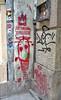 Feudal Revolution (tcees) Tags: wesselényist budapest hungary pest urban x100 fujifilm finepix sidewalk pavement street streetphotography drainpipe wall graffiti painting