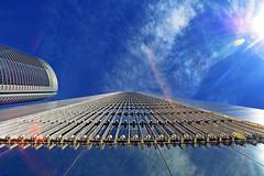 Cuatro Torres. Madrid. Spain. (COLINA PACO) Tags: madrid españa espagne spain spagna architecture arquitectura gratteciel grattacielo rascacielos reflejos reflections reflets