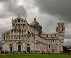 Pisa and it's secret tower. (Mark240590) Tags: renaissance medieval europe leaningtower marble italy pisa
