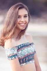 Emma - Magnetic Island (Rob Harris Photography) Tags: smile smiling face headshot portrait fashion beautiful beauty babe beach colour chic cute girl gorgeous female feminine figure model modelling naturallight naturalbeauty woman magneticisland bohemian boho