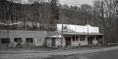 Old Store with Pepsi Sign (Bob G. Bell) Tags: abandoned generalstore summers wv westvirginia greensulphursprings elton road bw store fujifilm xt1 bobbell