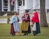 Colonial Ladies (lclower19) Tags: patriotsdaydressrehearsal dress rehearsal lexington massachusetts ladies colonial