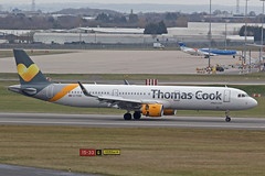 Thomas Cook Airlines Airbus A321-211 G-TCDE (Paul's Aircraft and Transport Images) Tags: bhx birmingham elmdon airbus a321 211 thomas cook airlines