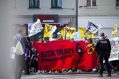 ktond991 (Felix Dressler) Tags: kickthemout nazizentrendichtmachen identitärebewegung halle demonstration antifa feminismus konsequent feministisch antifaschistisch ib