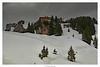 August Schuster Haus auf dem Pürschling in 1564m (JKP14) Tags: pürchlinghaus pürschlinghaus berg bayern schnee gipfel landschaft himmel abhang bäume