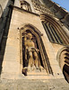 St Wulfram, Grantham (Dun.can) Tags: stwulfram church grantham lincolnshire archangel michael stmichael nest tower medieval niche statue 1921