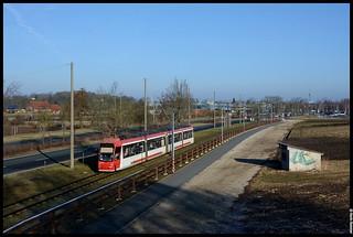 VAG Nürnberg   Wagen 1122   Am Wegfeld   15.03.2018