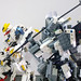 LEGO Gundam Gusion Rebake Full City & Gundam Barbatos Lupus Rex