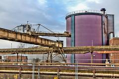 Industry 2 (Occulytus) Tags: kran krananlage lage ostwestfalen zuckerrüben fabrik crane craneinstallation sugarbeet sugarbeetfactory eastwestphalia germany factory industrie industry hdr