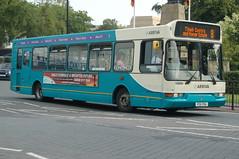 Arriva Dennis Dart SLF 2311 P311FEA - Stafford (dwb transport photos) Tags: arriva dennis dart eastlancs spryte bus 2311 p311fea stafford