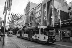 Bourke Street (andrewsurgenor) Tags: transit transport publictransport electric streetscenes citytransport city urban trams streetcars trolleys melbourne victoria australia