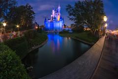 Twilight Castle (MarcStampfli) Tags: cinderellacastle disney florida libertysquare magickingdom nikond3200 themeparks vacationkingdom wdw waltdisneyworld