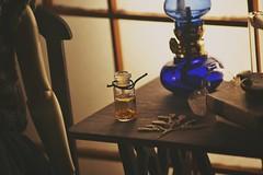 Scene II (tarengil) Tags: dollmore zaolluv zaoll bjd abjd balljointeddoll dollstagram instadoll asian doll room dollhouse diorama scene yellow gold whiteresin basicwhite brittle detail 13