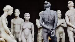Summit on the top (dtankosic) Tags: art flu belgrade sculptures bw figures serbia