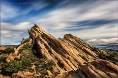 Cloud Watcher (TomGrubbe) Tags: vasquezrocks vasquez rocks palmdale aguadulce longexposure clouds california landscape