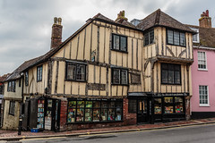 The Fifteenth Century Bookshop (PhredKH) Tags: 2470mm buildings canonphotography ef2470mmf4lisusm englishtown fredkh houses lewes photosbyphredkh phredkh splendid streetphotography outdoorphotography outdoors sky street bookshop fifteenthcentury architecture canoneos5dmkiii