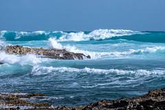 SI BLEU la vie en bleu 15/21 (Hélène Baudart) Tags: mer bleu mexique