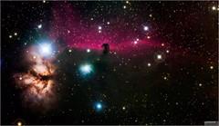 The Horsehead Nebula of Orion - Barnard 33 (The Dark Side Observatory) Tags: tomwildoner night sky deepsky space outerspace skywatcher telescope 120ed celestron cgemdx asi190mc zwo astronomy astronomer science canon canon6d deepspace guided weatherly pennsylvania observatory darksideobservatory stars star leisurelyscientist leisurelyscientistcom tdsobservatory backyardeos horseheadnebula nebula barnard 33 orion february 2018 astrometrydotnet:id=nova2488709 astrometrydotnet:status=solved