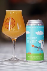Shoot From the Hip: Latest New England IPA brewery release from Masthead Brewing. Subtle citrus juice and a smooth finish with only subtle bitterness. (celisale) Tags: sal135f18z a99m2 a99ii craftbeer hazy hoppy juicy hops milkshakeipa neipa