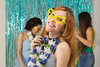 Caucasian woman is wearing funny glasses. In the background a carnival party (Any Schiavinato) Tags: carnaval america brazil brazilian camera carnival caucasian celebrate celebration cheerful colorful concept costume dancing dressed enthusiasm euphoria exhilaration flower friends friendship fun funny group happy hawaiian holiday indoors joy latin life lifestyle looking mardigras necklace party partygoer people posing revelers revelry smile south summer sunglasses teenager together traditional tropical wearing white woman young