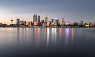 Perth Evening Skyline