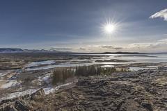 Sprung-Opnast valley (José M. Arboleda) Tags: paisaje montaña sol nieve cielo mar agua sprungaopnast valle islandia canon eos 5d markiv ef1635mmf4lisusm josémarboledac
