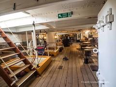 HMS Warrior 2018 03 22 #11 (Gareth Lovering Photography 5,000,061) Tags: hms warrior 1860 ship royalnavy britishnavy portsmouth england olympus omdem10ii 918mm garethloveringphotography